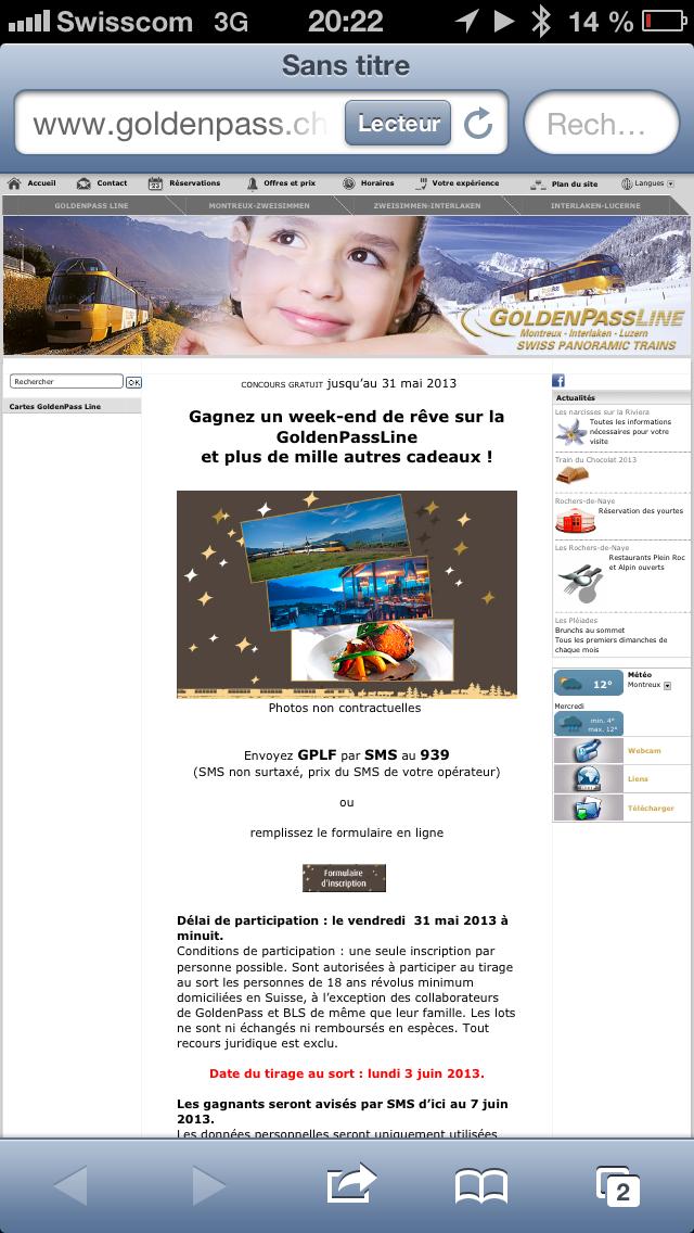 Le site web qui va avec