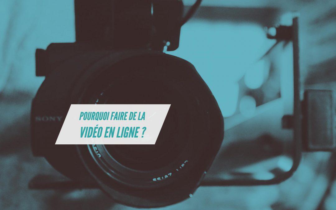 Pourquoi utiliser la vidéo dans sa communication en ligne ?