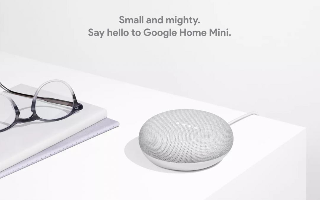 Deux semaines avec Google Home mini, le constat