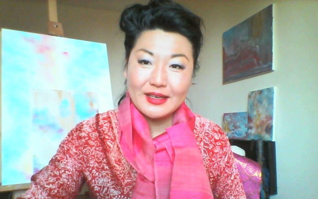 Mon interview avec Muriel Favarger au micro de son vlog
